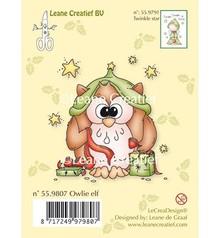 Leane Creatief - Lea'bilities Transparent stamps, owl