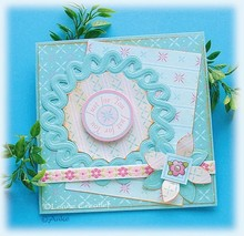 Leane Creatief - Lea'bilities Stamping and Prägeschbalone, Leabilities, Wreath