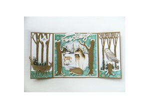 Marianne Design Cutting and embossing stencils, trees