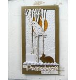 Marianne Design Skæring og prægning stencils, Tiny Dyr for, egern og Kanin