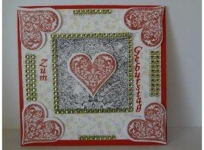 EK Succes, Martha Stewart EK Stamps and matching Motivstanzer