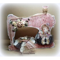 Objects for decorating, sewing machine