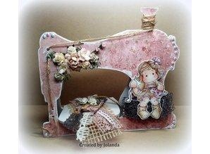 Objekten zum Dekorieren / objects for decorating Objects for decorating, sewing machine