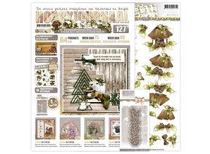 Bücher und CD / Magazines Hobbyjournaal 127 med ekstra punch, skabelon!