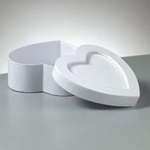 Objekten zum Verzieren, Box Mosaix, Herz