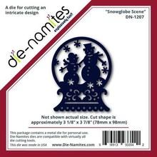 Die-namics Stansning og prægning skabeloner-namites, snekugle med snemænd