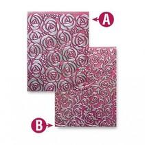 Prägeschablone M-Bossabilities, Cabbage Roses