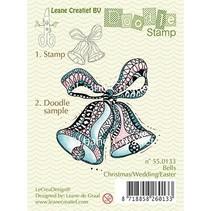 Gennemsigtige frimærker, Doodle klokker