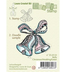 Leane Creatief - Lea'bilities Transparent stamps, Doodle bells