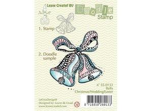 Leane Creatief - Lea'bilities Gennemsigtige frimærker, Doodle klokker