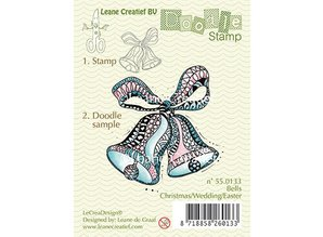 Leane Creatief - Lea'bilities Transparent stamps, Doodle bells