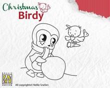 Docrafts / Papermania / Urban Transparent Stempel, Christmas Birdie - Teamwork