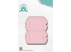 Nellie snellen Punching and embossing template for the design of cute bay elks