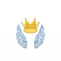 Stanz- und Prägeschablonen, Die D-Lites, Flügel und Krone