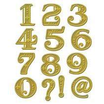Skæring og prægning stencils Shapeabilities, victorianske tal