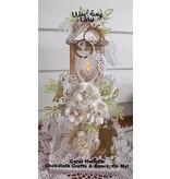 Cottage Cutz Corte y estampado en relieve plantillas, anillos de boda