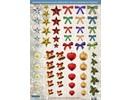 Embellishments / Verzierungen Gran idea! Láminas troqueladas con accesorios hechos de la tarjeta 250g de valores, A4