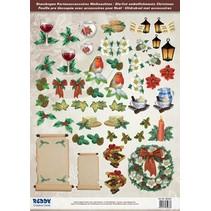 Tolle Idee! Stanzbogen mit Accessoires aus 250g Kartenkarton, Format A4