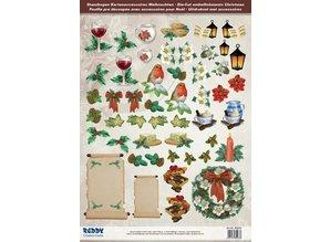 Embellishments / Verzierungen Rigtig god idé! Die cut ark med tilbehør lavet af 250 g karton, A4