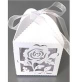 Dekoration Schachtel Gestalten / Boxe ... 10 Geschenkschachtel, mit filigranes Rosenmotiv