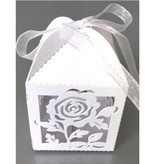 Dekoration Schachtel Gestalten / Boxe ... 10 Gift box met delicate roos motief