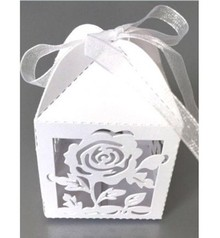 Dekoration Schachtel Gestalten / Boxe ... Scatola 10 di regalo con delicato motivo rosa