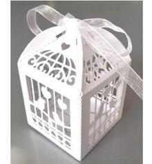 Dekoration Schachtel Gestalten / Boxe ... 10 Geschenkschachtel, mit filigranes Vogelkäfig Motiv