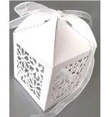 Dekoration Schachtel Gestalten / Boxe ... 10 Gaveæske med delikat blomstermotiv