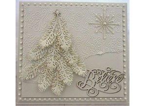 Marianne Design Marianne Design, embossing and Schneideshablone, fir branch, LR0181