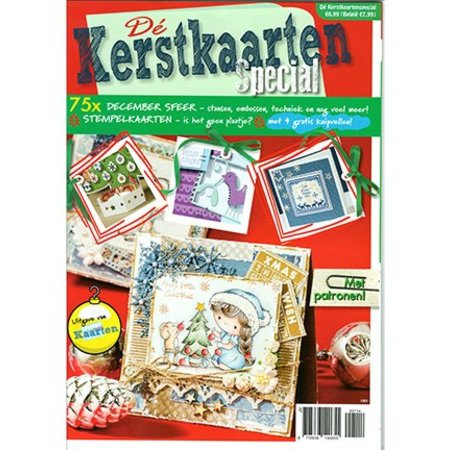 Bücher und CD / Magazines A4 Werk tijdschrift: Kerstkaarten speziall, NL