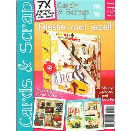 Bücher und CD / Magazines A4 Bastelzeitschrift: Cards & Scrap NL