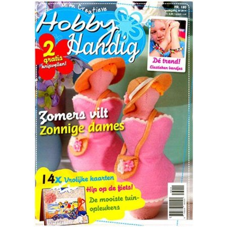 Bücher und CD / Magazines A4 Bastelzeitschrift: Hobby Handig NL