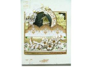 Marianne Design Corte y estampado en relieve plantillas, frontera decorativa