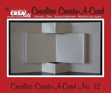 Crealies und CraftEmotions Skæring dør for design af pop-up-kort