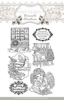 Amy Design Transparent stamps, Amy Design, Christmas motifs and angel