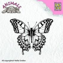 Transparent Stempel, Schmetterling