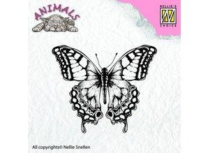 Nellie snellen Gennemsigtig stempel, sommerfugl