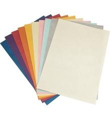 DESIGNER BLÖCKE  / DESIGNER PAPER Carta metallizzata A4, 10 fogli