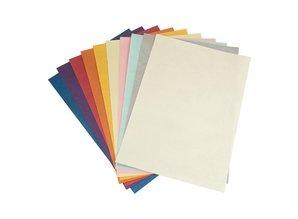 DESIGNER BLÖCKE  / DESIGNER PAPER Metallic A4 paper, 10 sheets