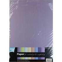 A4 Pearl Papier, 8 Bogen