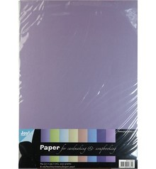 DESIGNER BLÖCKE  / DESIGNER PAPER A4 Pearl Papier, 8 Bogen