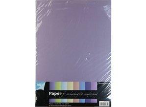 DESIGNER BLÖCKE  / DESIGNER PAPER Pearl A4-papir, 8 ark