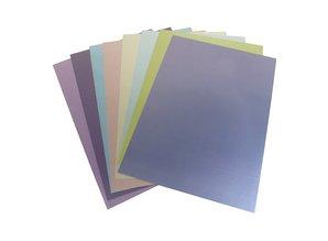 DESIGNER BLÖCKE  / DESIGNER PAPER Pearl A4 paper, 8 sheets