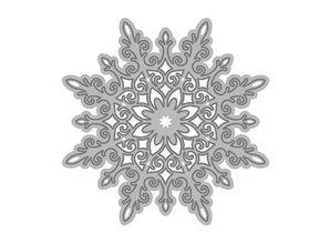 TONIC Tonic, stansning og prægning skabelon, snefnug