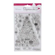 Stempel / Stamp: Transparent Gennemsigtige frimærker, jul