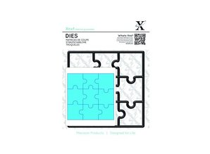 X-Cut / Docrafts Stamping template, puzzle pieces