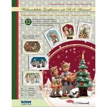 Bastelmappe Hummel Weihnachten Edition III