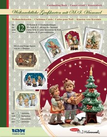 BASTELSETS / CRAFT KITS: Craft tegnebog Hummel Christmas Edition III