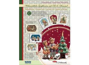 BASTELSETS / CRAFT KITS: Bastelmappe Hummel Weihnachten Edition III