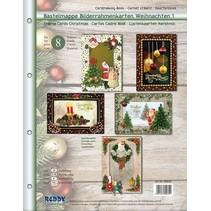 Craft portemonnee voor het ontwerpen van 8 edele Kerstkaarten